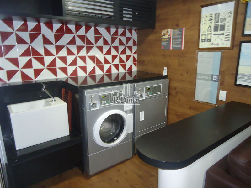 lavanderia prédio - Flat, apart hotel, tulip inn, mercure, adágio, 1 vaga, serviços, lazer, Ipanema, Rio de Janeiro, RJ - AP011156 - 18