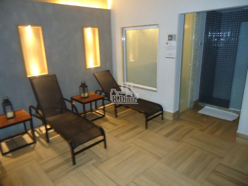 sauna prédio - Flat, apart hotel, tulip inn, mercure, adágio, 1 vaga, serviços, lazer, Ipanema, Rio de Janeiro, RJ - AP011156 - 19