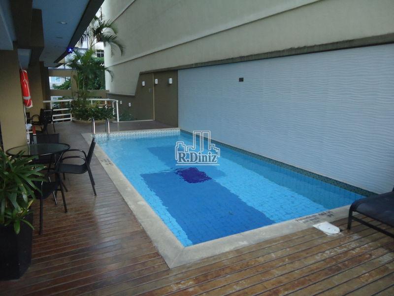 piscina - Flat, apart hotel, tulip inn, mercure, adágio, 1 vaga, serviços, lazer, Ipanema, Rio de Janeiro, RJ - AP011156 - 23