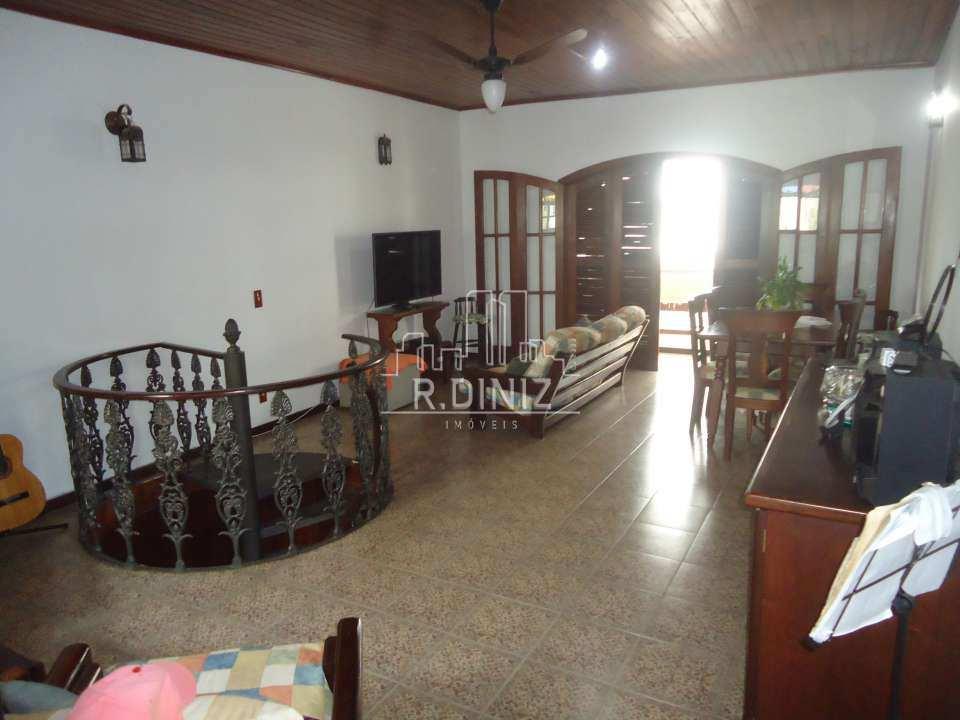 3º andar: sala - Casa de vila triplex, rua do catete, zona sul, residencial, rio de janeiro/RJ. - im011321 - 3