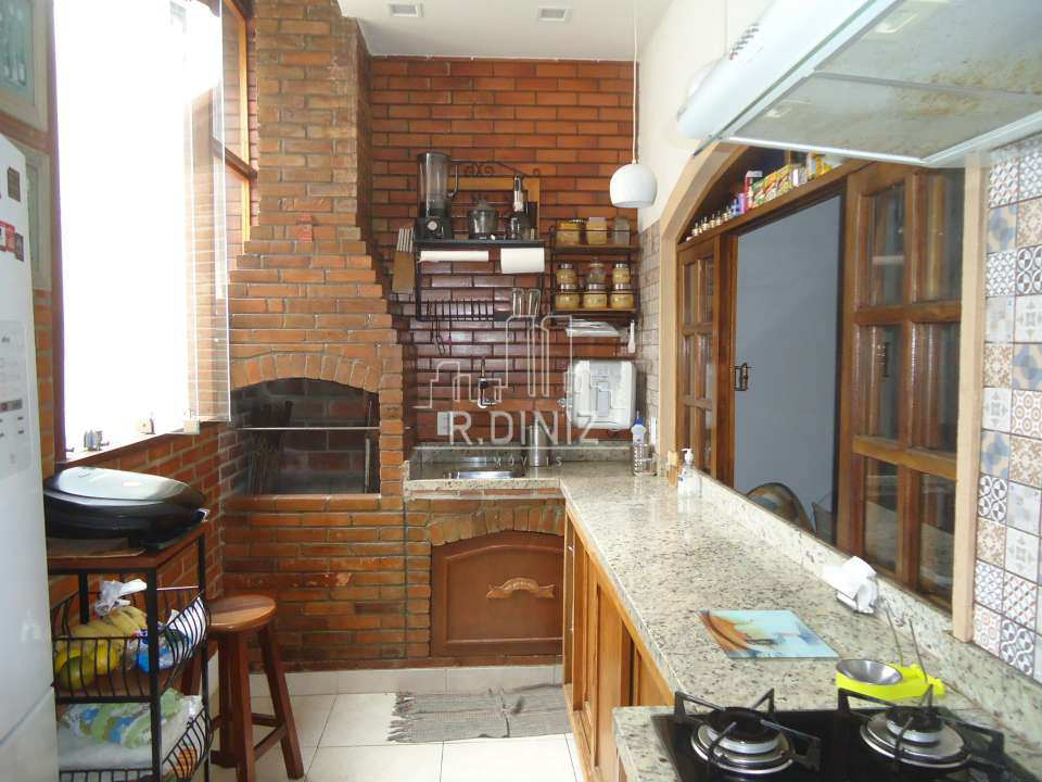 3ºandar cozinha churrasqueira - Casa de vila triplex, rua do catete, zona sul, residencial, rio de janeiro/RJ. - im011321 - 5
