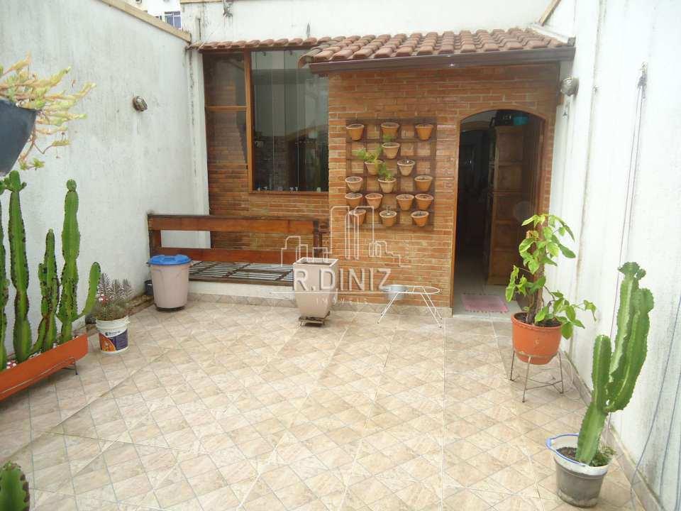 3ºandar terraço descoberto - Casa de vila triplex, rua do catete, zona sul, residencial, rio de janeiro/RJ. - im011321 - 9
