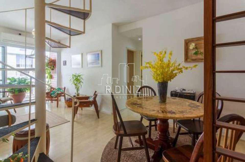 Cobertura duplex, 3 quartos (1 suite), 2 vagas, lazer, Rua Coelho Neto, Laranjeiras Rio de Janeiro. - im011342 - 5