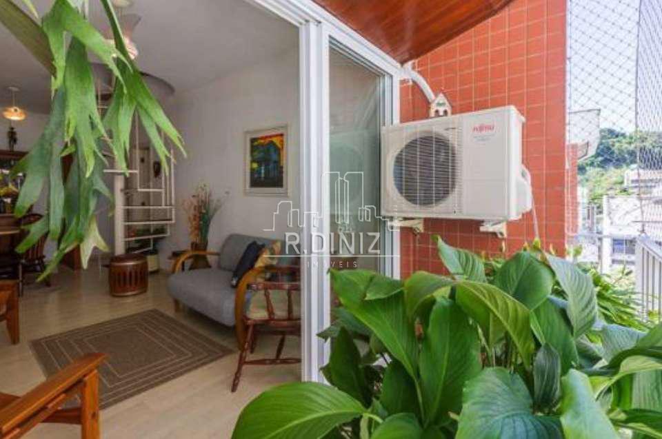 Cobertura duplex, 3 quartos (1 suite), 2 vagas, lazer, Rua Coelho Neto, Laranjeiras Rio de Janeiro. - im011342 - 7