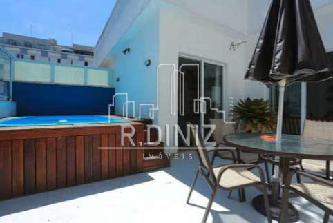 Cobertura duplex, 3 quartos (1 suite), 2 vagas, lazer, Rua Coelho Neto, Laranjeiras Rio de Janeiro. - im011342 - 46