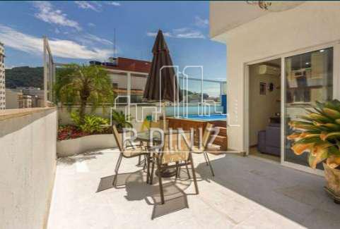 Cobertura duplex, 3 quartos (1 suite), 2 vagas, lazer, Rua Coelho Neto, Laranjeiras Rio de Janeiro. - im011342 - 47