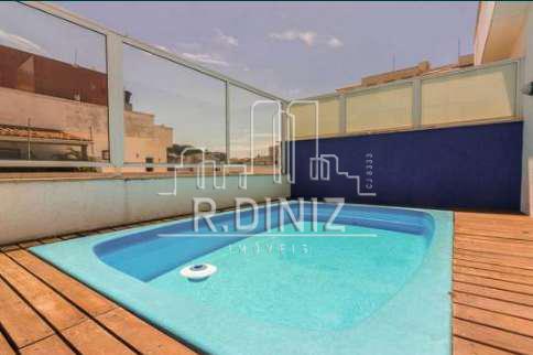 Cobertura duplex, 3 quartos (1 suite), 2 vagas, lazer, Rua Coelho Neto, Laranjeiras Rio de Janeiro. - im011342 - 50