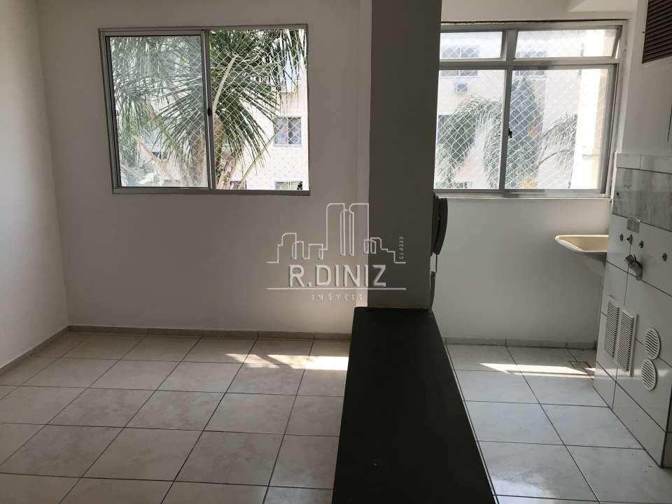 sala cozinha americana - Imóvel, Apartamento À venda, Rocha Miranda, 2 quartos (1 suíte), 1 vaga, Rio de Janeiro, RJ, MRV, barro vermelho. - AP011033 - 7